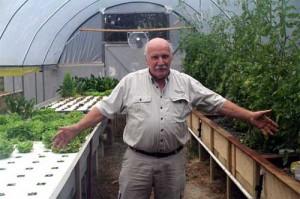 Practical Aquaponics greenhouse.