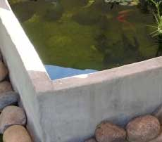 Concrete fish tanks can be very alkaline and drive the pH of your system up.