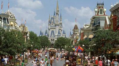 main street Disneyworld Orlando